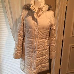 Aeropostale white coat make an offer